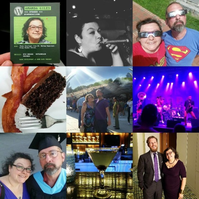 Some highlights from my year topnine2017
